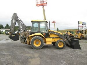 Volvo Bl70 Farm Tractor Loader Backhoe 0373