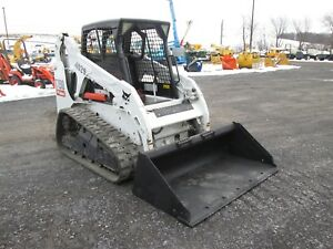 Bobcat T190 Skid Steer Farm Loader