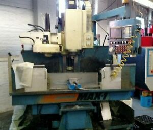 1990 Cnc Supermax Max 1 Vertical Machining Center Vmc With Fanuc Om Control