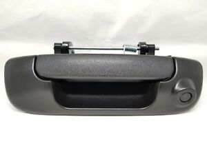 Dodge Ram 1500 2002 2009 2500 3500 2010 Black Tailgate Handle Backup Camera