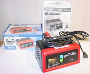 Cen Tech Battery Charger 2 6 Amp 6 12 Volt 60431
