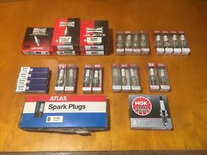 Lot Of 53 Spark Plugs Champion Ac Atlas Ngk