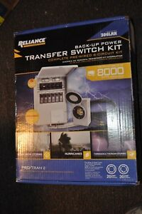 Reliance Controls Back up Power Transfer Switch Kit Model 306lrk