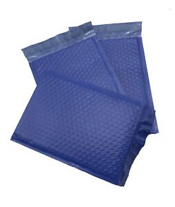 250 0 6x10 Poly Blue Envelopes Bubble Mailers Padded Case Supplies 6 x10