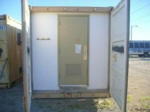 Military Container W toilets Sinks Shower Cabin tornado Shelter Tiny House