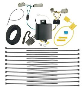 Trailer Wiring Harness Kit For 2015 2019 Ford Transit 350 Dually Models Only