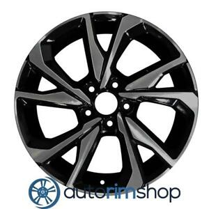 New 18 Replacement Rim For Honda Civic 2017 2020 Smoked Wheel