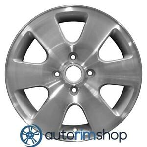 New 16 Replacement Rim For Ford Focus 2000 2003 Wheel Machined With Silver 3438