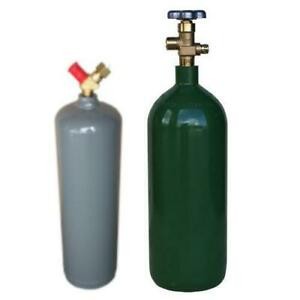 20 Cf Oxygen Cylinder And Mc 10 Acetylene Cylinder W Free Shipping