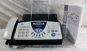 Brother Fax Machine 575 Personal Plain Paper Fax Phone And Copier Nice
