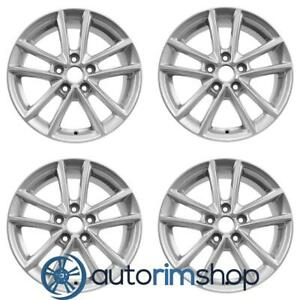 New 16 Replacement Wheels Rims For Ford Focus 2015 2018 Set Silver 10010
