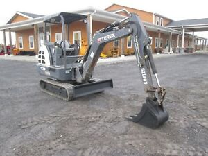 Terex Tc29 Used Mini Excavator Farm Tractor Dozer