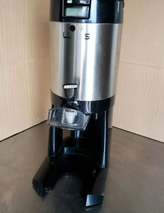 Fetco Luxus L3d 15 1 5 Gallon Thermal Coffee Server Dispenser W integrated Stand