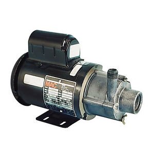3 md hc Little Giant r Magnetic Drive Pump With 1 12 Hp 115v Open Motor
