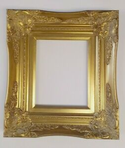 Picture Frame 8x10 Vintage Antique Style Baroque Classic Gold Ornate 6996g