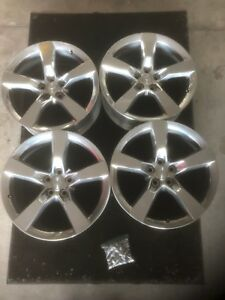 Chevrolet Camaro Ss Oem Factory Wheel Rim Set 20 Polished