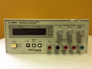 Agilent Hp E3630a 6 V 2 5 A 20 V 0 5 A 20 V 0 5 A Dc Power Supply