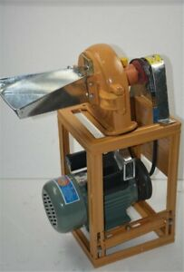 Grain Crusher New Grain Grinding Machine Corn Powder Making Machine Commercia By
