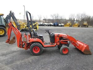 Kubota Bx25d Used Farm Tractor Loader Backhoe 4x4 Pto 3 Pt Hitch 6557