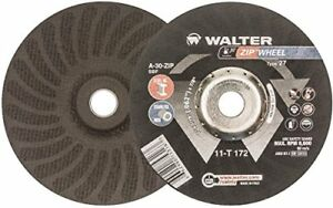 Walter Zip Wheel High Performance Cutoff Wheel Type 27 Round Hole Aluminum 7