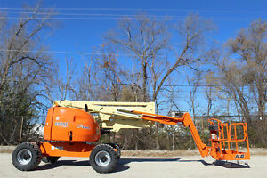 2013 Jlg 450aj 4wd Articualiting Boom Lift With Jib Aerial Lift Jlg Manlift