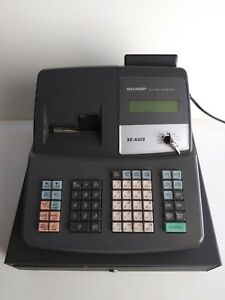 Sharp Xe A42s Electronic Cash Register Key Thermal Paper Included