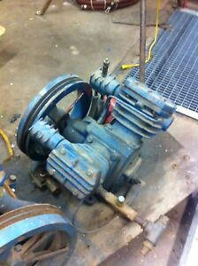 Ingersoll Rand T 30 Air Compressor Pump