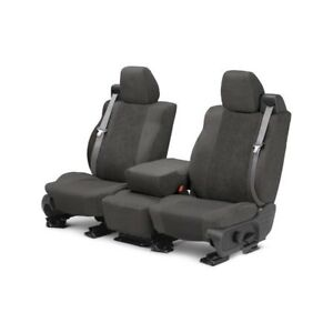For Mg Mgb 73 80 Caltrend Supersuede 1st Row Charcoal Custom Seat Covers