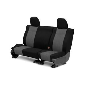 For Toyota Previa 91 93 Eurosport 2nd Row Black Light Gray Custom Seat Covers
