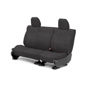 For Toyota Previa 91 93 Caltrend Microsuede 2nd Row Charcoal Custom Seat Covers