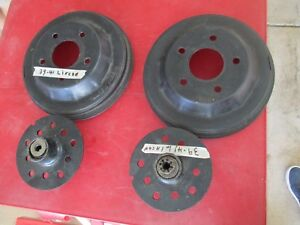 1939 1940 1941 Lincoln Front Brake Hubs 12 Drums Hot Rat Rod Scta