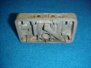 68 1968 Ford Holley 5554 Metering Block For 3796 Carb 390 Mustang Fairlane Auto