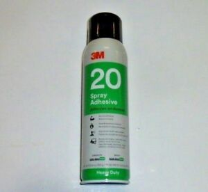 Case Of 12 3m Heavy Duty 20 Adhesive Spray Cans 4915 13 8 Oz New