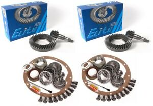 80 87 Chevy K20 Gm 9 5 14 Bolt 8 5 4 56 Ring And Pinion Master Elite Gear Pkg