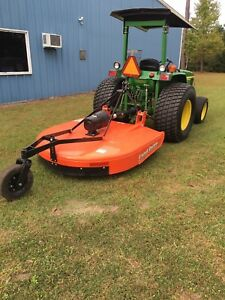 2007 John Deere Tractor 990 With Land Pride Rotary Cutter