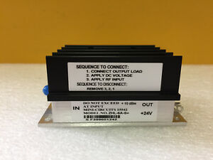 Mini circuits Zhl 6a s 0 0025 To 500 Mhz 25 Db Typ Sma f Coax Amplifier New