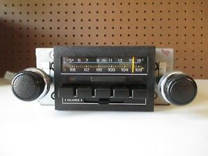 1979 84 Ford Am Fm Stereo Radio For Ford Cars trucks