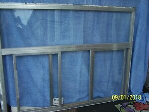 Concession Serving Window Double Slider Food Truck window Only Amish Made