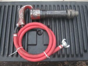 Chicago Pneumatic Breaker Chipping Hammer Cp 4123 With Swivel Air Hose