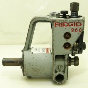 Ridgid 960 Roll Groover Compact Free Shipping