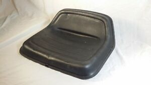 Used Cushioned Metal Tractor Seat