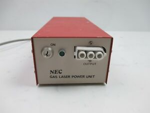 Nec Gls5731 Gas Laser Power Supply Unit Quality Lab Laboratory Unit Benchtop
