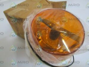 Federal Signal 121s 120a Amber Beacon New In Box