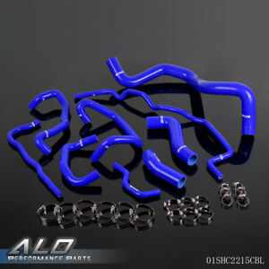 Silicone Radiator Coolant Hose Kit For Volkswagen 99 06 Golf Mk4 Turbo 99 1 8t