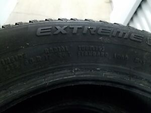 Used Continental Extreme Winter Contact Tires 215 60r 17 96t set Of 4