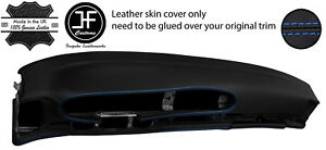Blue Stitch Oval Dashboard Leather Cover For Porsche 944 968 86 95 Style 2