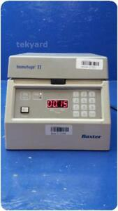 Baxter Immufuge Ii Table Top Centrifuge 211204