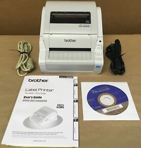 Brother Td 4000 Label Direct Thermal Printer new