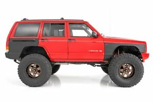 Rough Country Jeep Front And Rear Quarter Panel Armor 97 01 Cherokee Xj