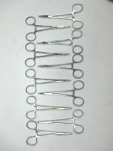 Lot Of 10 Stainless Steel Needle Holders Pakistan Surgical Forceps Suture 5